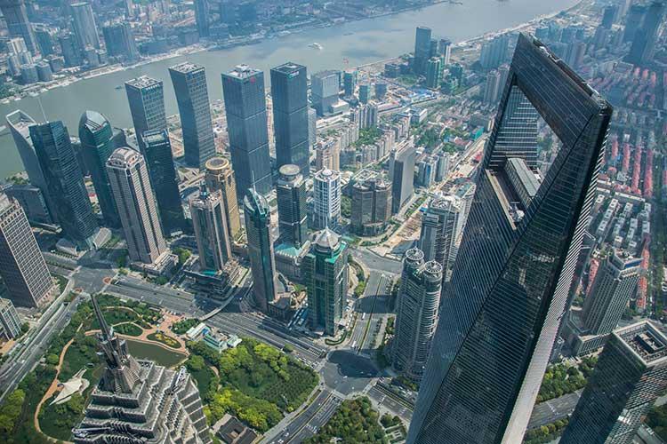Финансовый центр Шанхая Открывашка