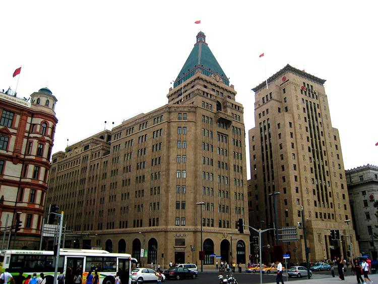 Отель Пис в Шанхае