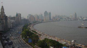 Набережная Вайтань Шанхай