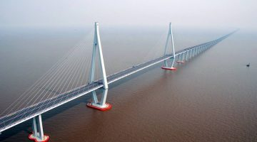 Мост Ханчжоу Hangzhou bay bridge