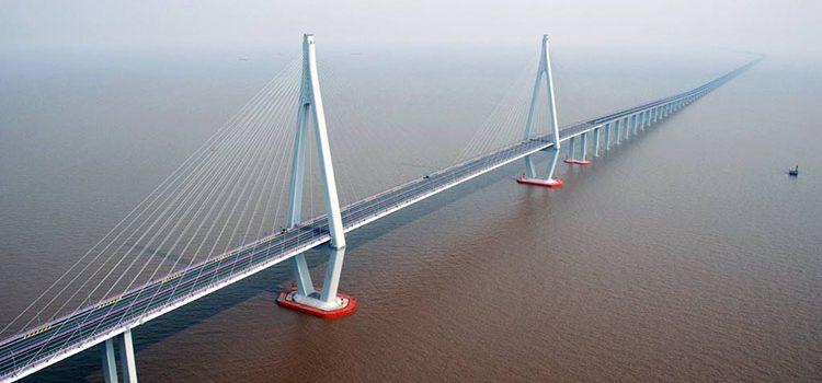 Мост Ханчжоу Hangzhou bay bridge