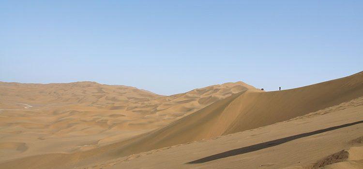 Пустыни в Китае