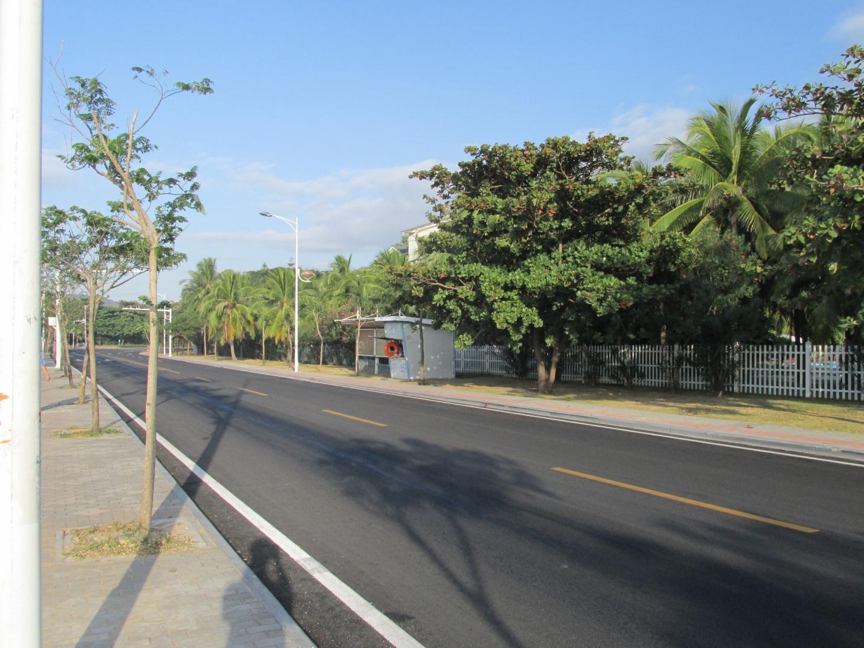 Улица в курортной зоне города Санья