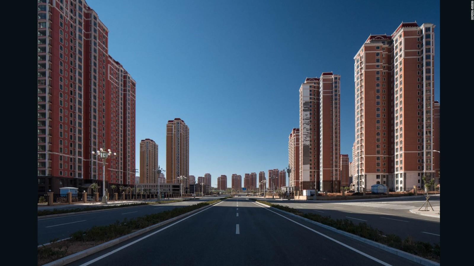 Г.Ордос – крупнейший город-призрак в Китае