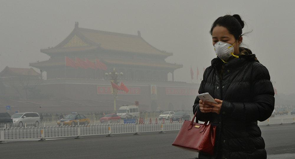 Знаменитый китайский смог