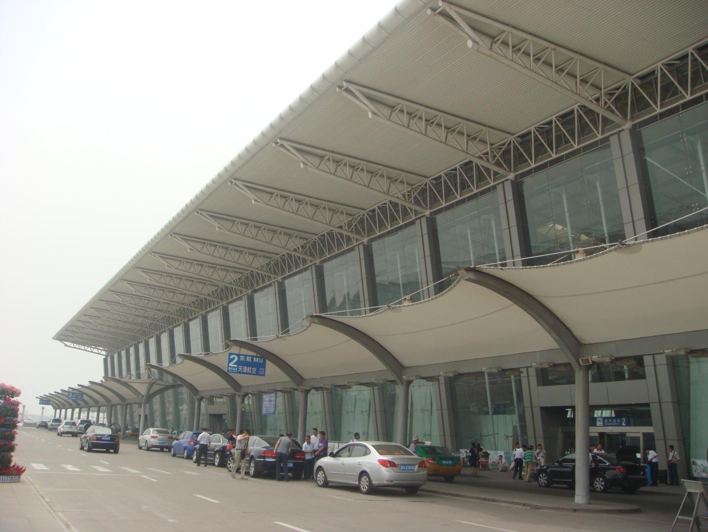 2 терминал аэропорта в г. Сиань